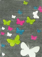 Dywan Butterfly 779 195 grey
